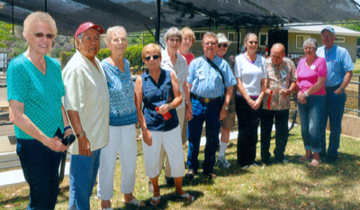 Class of 1955 at the fairgrounds