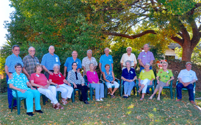 Class of 1955 at Janet Whitla's