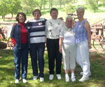 Doris Watson, Dena Bixler,  Mary Wass Williams, Ruthie Peterson, Judy Raby Kirby