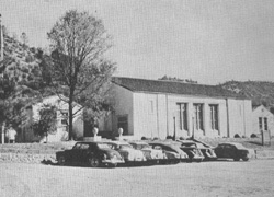 Mariposa County High School in 1957