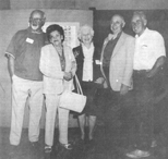 Harry Allison, Frances Dulcich, Florence & Milton Baker, Don Hixson, 1989