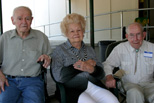 Molly, Pearl & Bill, possibly our oldest living graduates