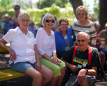 Lois Bailey Shafer, Lee Nixon DeLaMare, Linda Barnes Davis, Beverly Baker Williams, Dick Estel
