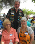 Bev Baker Williams, Bob Valeski, Judy Raby Kirby
