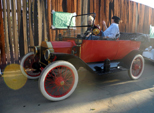 1914 Ford, same age as school