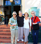 Michael Minniear, Janet Greeley-Peterson, Denise Seely, Linda Holt (class of 1967)