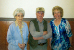 Emma Evans, Ray Warren, Judy Brucker