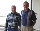 Ed Davis and Dick Estel, class of 1957